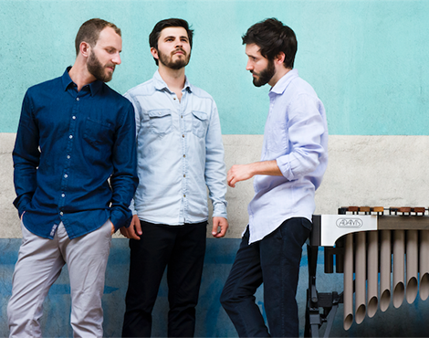 French trio reveals the delights of the marimba